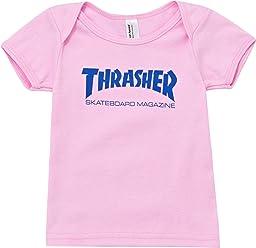 Thrasher Pink Skate Mag Baby T-Shirt