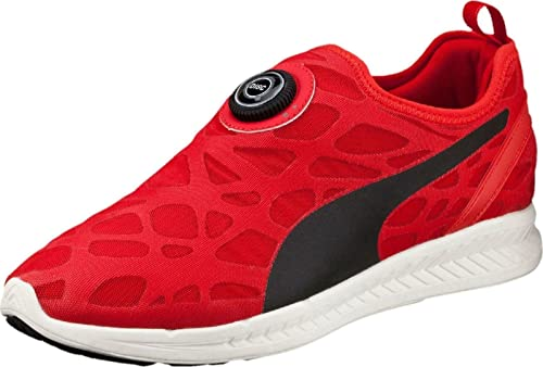 Puma Disc Sleeve Ignite Foam Sneaker schwarz rot 360946 03