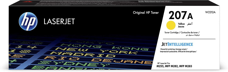 HP W2212A 207A Original Laserjet Toner Cartridge, Yellow, Single Pack