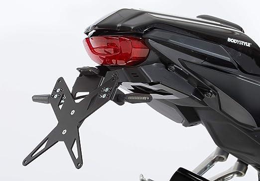 Protech X Shape Kennzeichenhalter Kompatibel Mit Honda Cbr650r 2019 2020 Rh01 Auto
