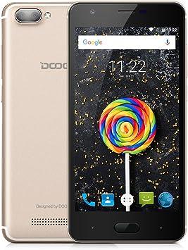 Doogee - Smartphone Libre Android (Doogee X20 Oro): Amazon.es: Electrónica