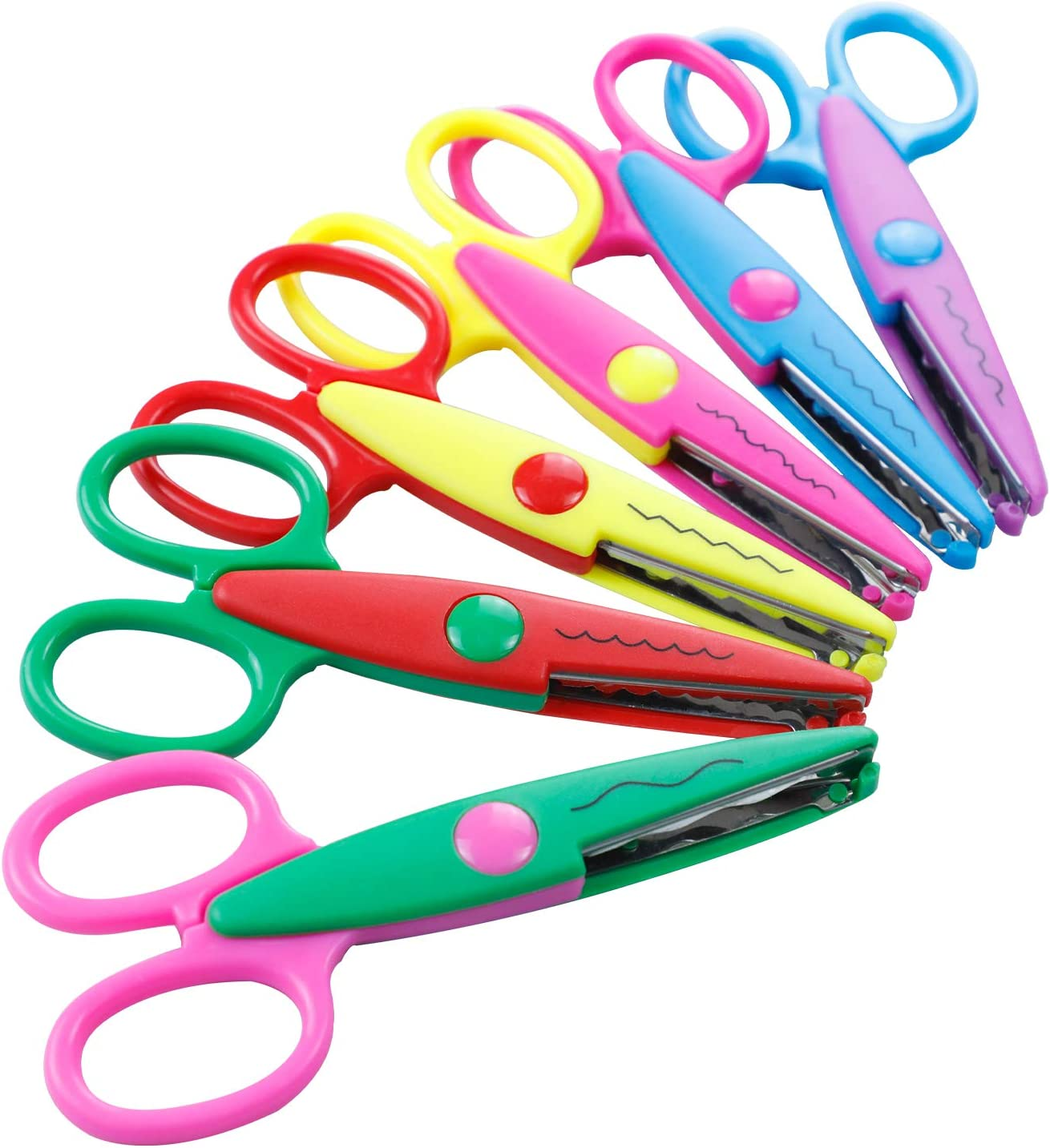 Amazon.com : Decorative Scissors Kids Craft Scissors Colorful