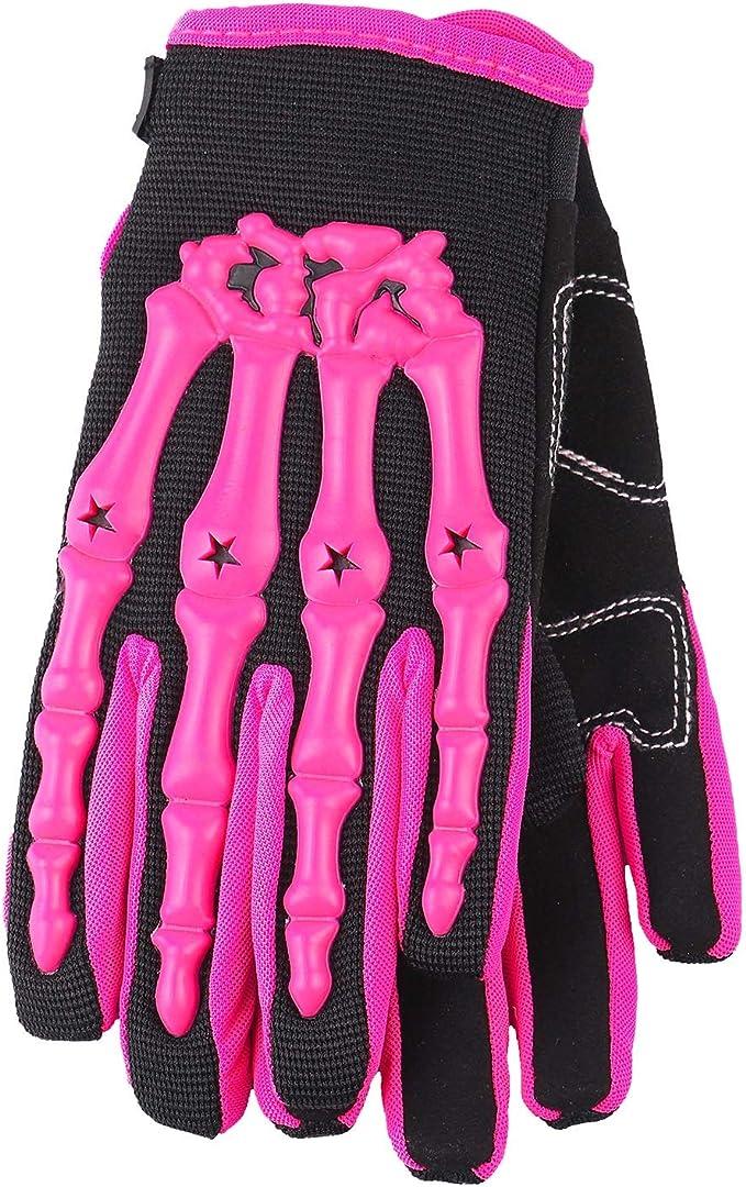BONZ-MX Blue Kids Off Road Mx Gloves XS