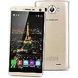 "LANDVO V11 Smartphone 3G - 5.0"" Schermo IPS QHD, Android 5.1 Quad Core 1.3GHz, 1GB RAM + 4G ROM, Dual SIM, WiFi GPS, Oro"