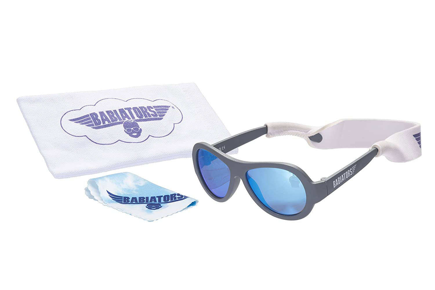 a7238594977 Amazon.com   Babiators Gift Set  Original Sunglasses (Junior Ages 0-3) +  Ready to Fly Accessory Pack (True Blue)   Baby
