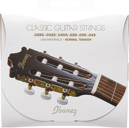 Ibanez ICLS6NT - Juego cuerdas para guitarra clásica: Amazon.es ...