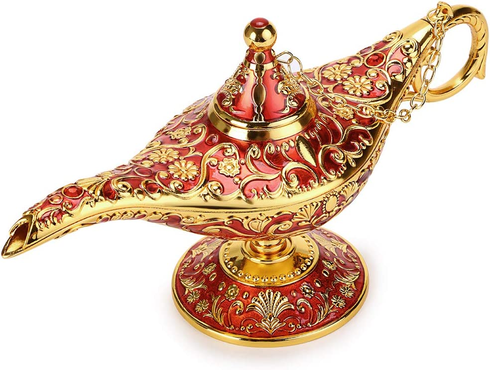 Aladdin Lamp Magic Genie Light with Gift Box - Exquisite Design