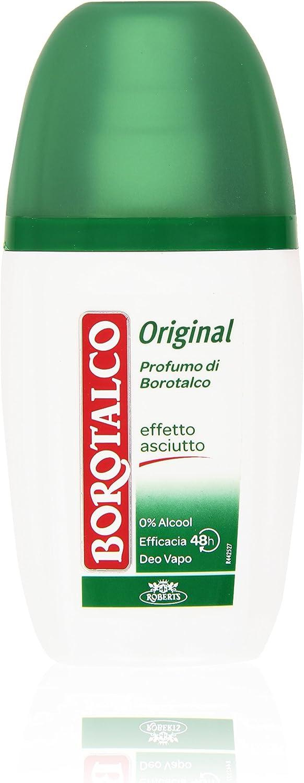 Borotalco Deo Vapo, Original Profumo Di Borotalco, Effetto Asciutto 75 Ml