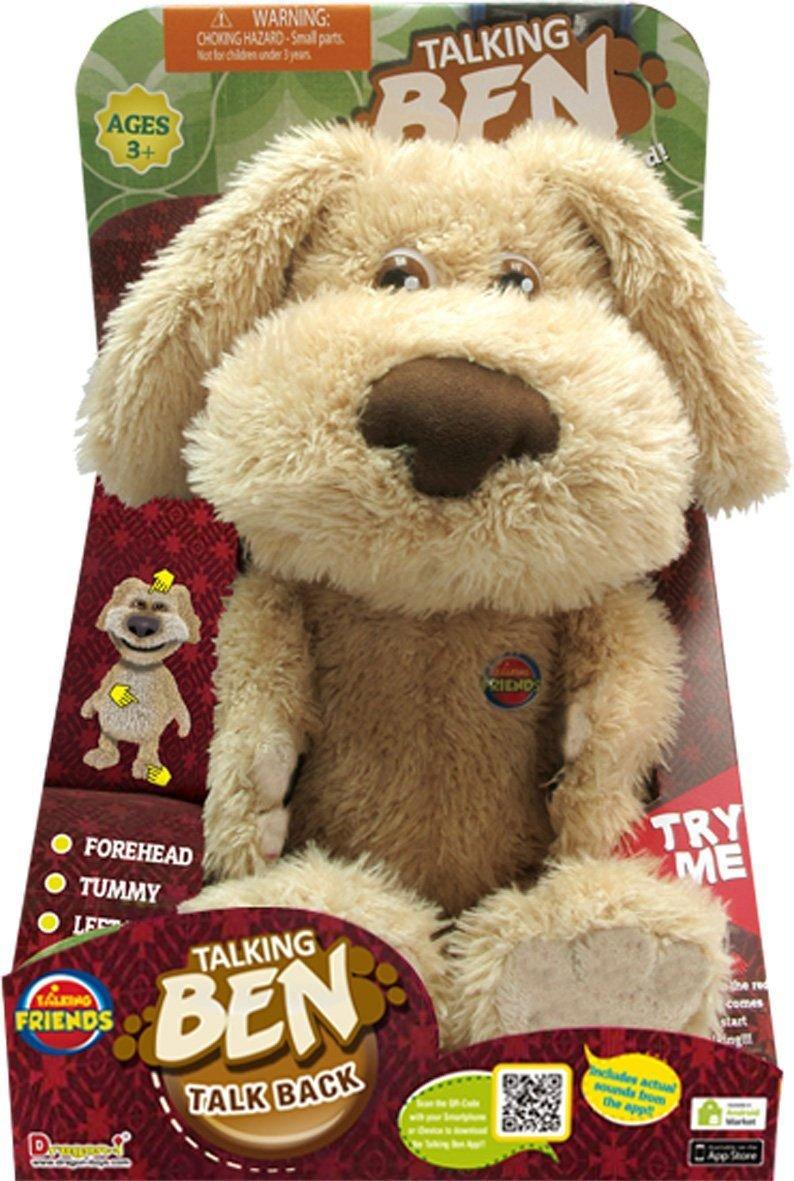 Talking Ben - Peluche perro (Silverlit 80803): Peers Hardy Talking Ben Animated Interactive Plush: Amazon.es: Juguetes y juegos