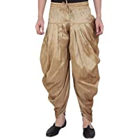 Royal Men's Silk Blend Patiala Salwar Alladin Pant's