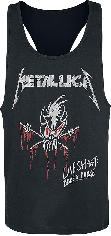 Metallica Live Shit: Binge & Purge Tanktop black S