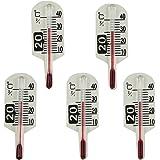 石原温度計製作所 No.7C ミニミニサーモ発芽用 地温計 45x15 5個セット