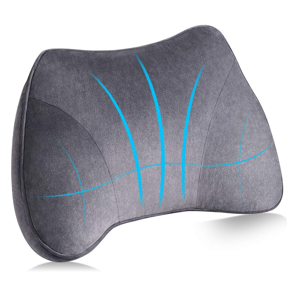 Elegear Lumbar Support Cushion Car Back Support Futuretech 3d Ergonomic Lumbar Support Pillow Protect And Soothe Your Back Adjusting Your Posture