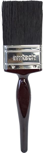 """Amtech 50 mm 2/"""" No Bristle Loss Pinceau Doux Poignée"""