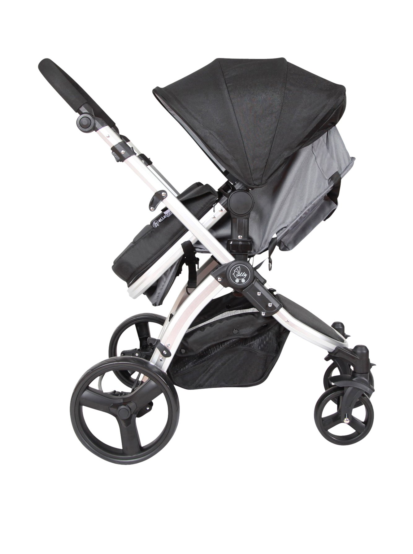 Elle Baby Journey Convertible Stroller - Black by Elle Baby
