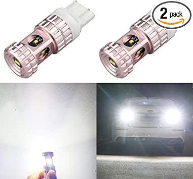 Aissy Super Bright 7440 7443 LED Turn Signal Light Bulbs WY21W 7444NA 7441 7442 Amber Yellow Car Blinker Lights Parking Lamp Replacement
