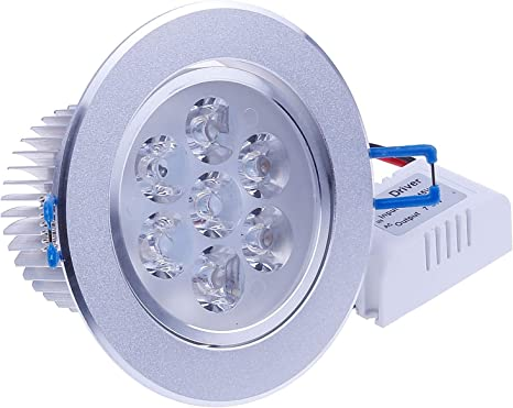 Kitchen Warm White Led // Pack of 4 Ceiling Down-lights Energy saving 7W