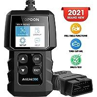 Topdon OBD2 Scanner OBD2 Auto Motor Fault Code Reader AL300 Diagnostic Scan Tool met Volledige OBD2 Functies…