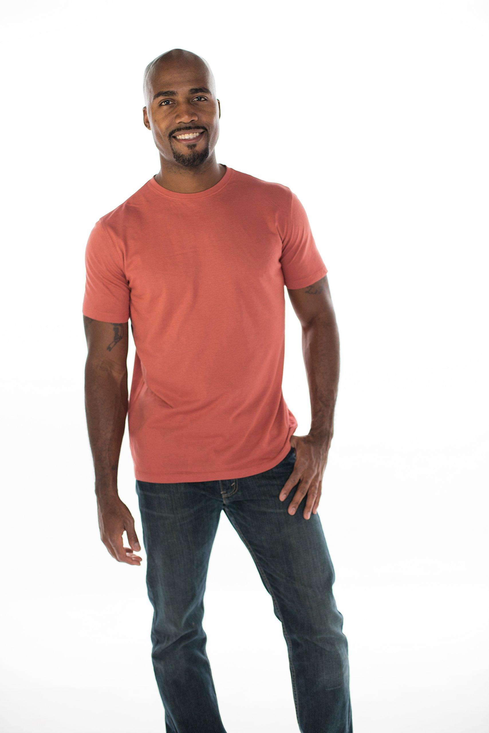 ONNO Men's Bamboo T-Shirt XL Brick
