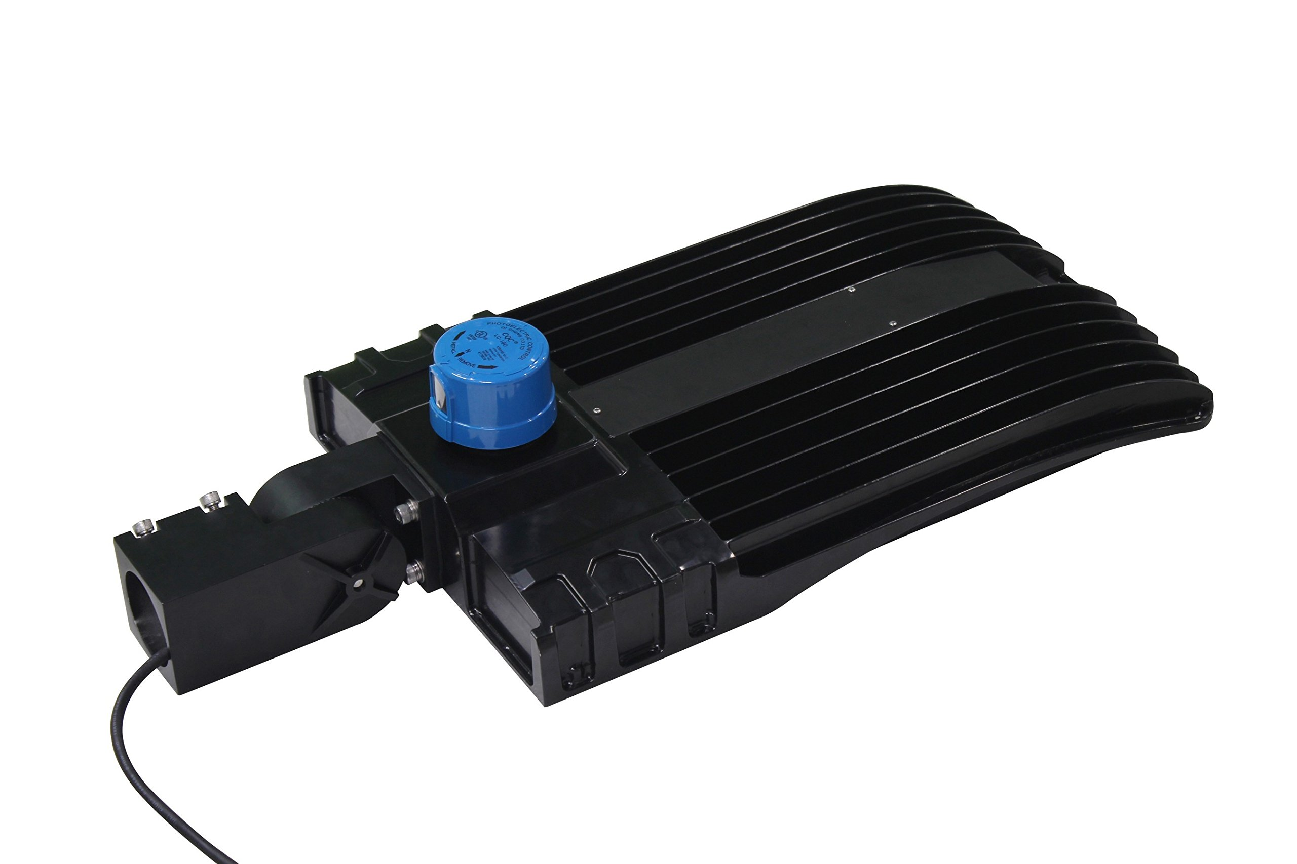 300 Watt NextGen LED Parking Lot Lights - 40,000 Lumen - Super Efficiency 130 Lumen to Watt - 5000K Bright White - Replaces 1000W Halide - LED Shoebox Lights - Slip Fit Mount - With photocell by RuggedGrade (Image #2)