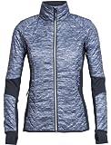 Icebreaker Women's Fraser Peaks Helix Long Sleeve Zip Jacket