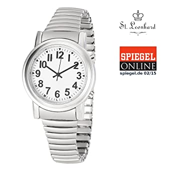 Armband Herren Analog StLeonhard Uhr W502sf Solar Mit Metall kZXiPu