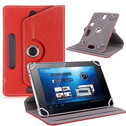quality design c390a edb2d SMM Red Tablet Flip Cover with Stand for Lenovo Tab3 730X (Universal ...