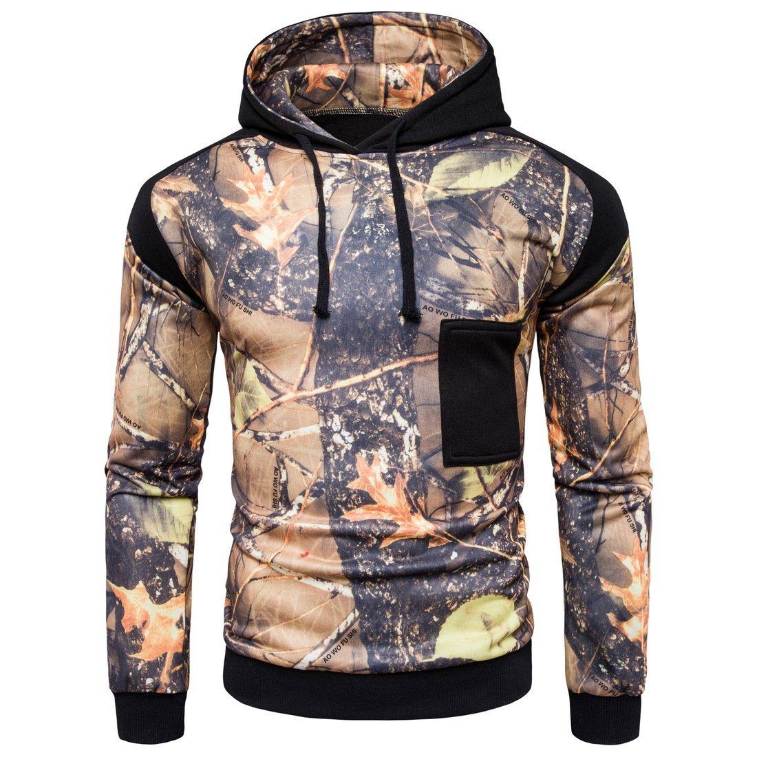 VB Sweatshirt Hoodie hat Lange Ärmel Lasche Elastische Tasche Bump Farbe
