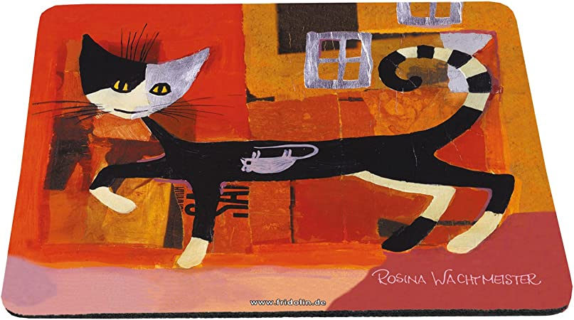 Fridolin 40206 Tapis de Souris Motif Rosina Wachtmeister Ivano with Mouse Multicolore