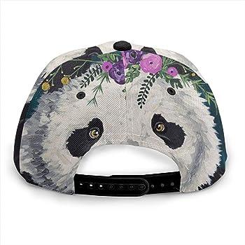 Inaayayi - Gorra de béisbol con diseño de Flores y Panda para ...