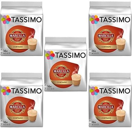 TASSIMO MARCILLA CORTADO COFFEE T-DISCS - Paquete completo ...
