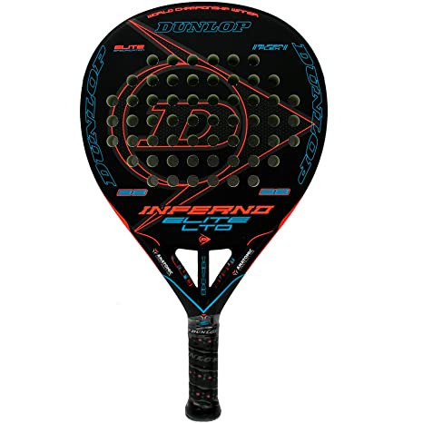 Pala de pádel Dunlop Inferno Elite LTD Blue: Amazon.es: Deportes y ...