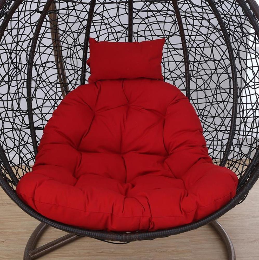 Sedia pad, Cuscino per sedia traspirante Cuscino sedia a dondolo Cuscino per sedie di spiaggia Cuscino per sedie anziani Imbottiture conPertevoli Nessuna dePermazione Per Sedia a dondolo Cestino d'attaccatura Sedia di vimini -B LELIfacturer