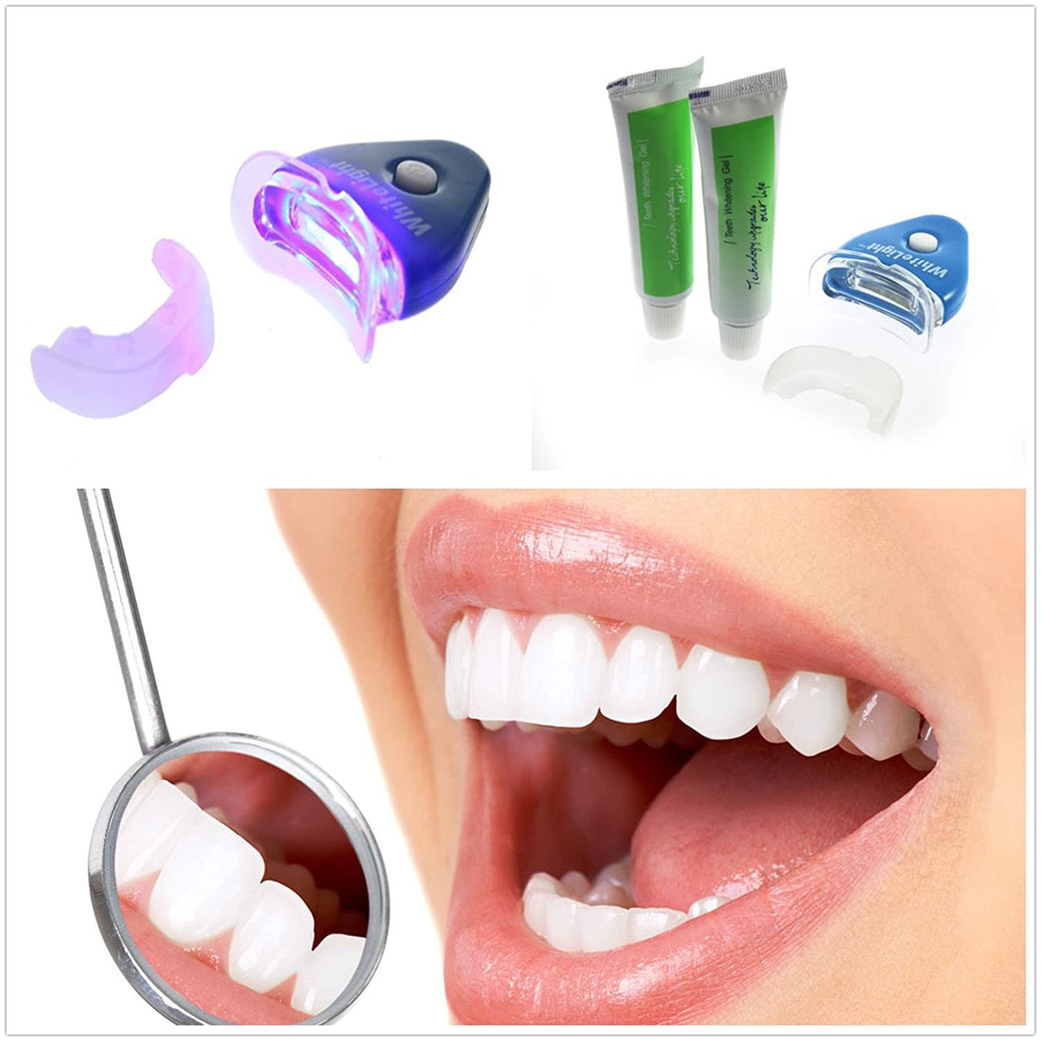 Amazon Com Home Tooth Care Teeth Whitening Whitener Kit Dental