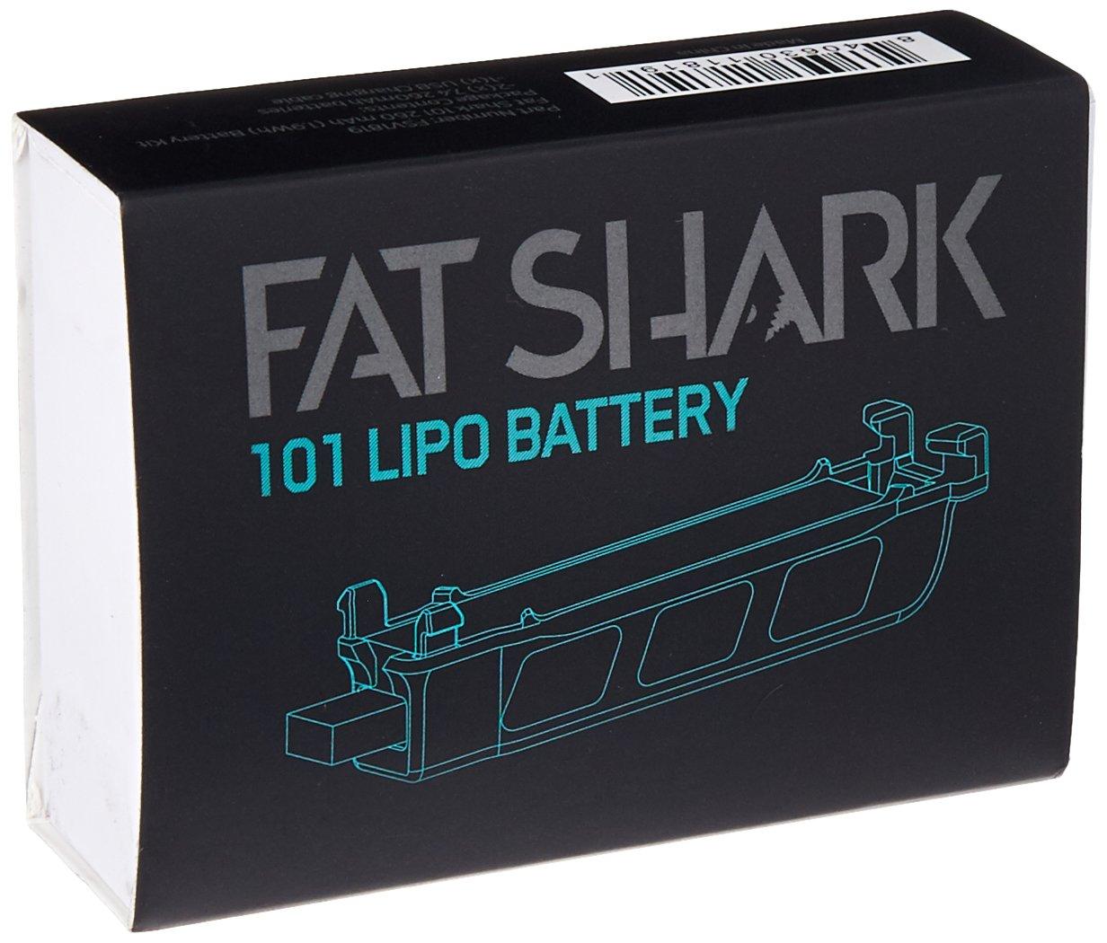 Fat Shark 101 Drone Training System Battery Kit Fsv1819 Amazonco Camera Wire Diagram Electronics