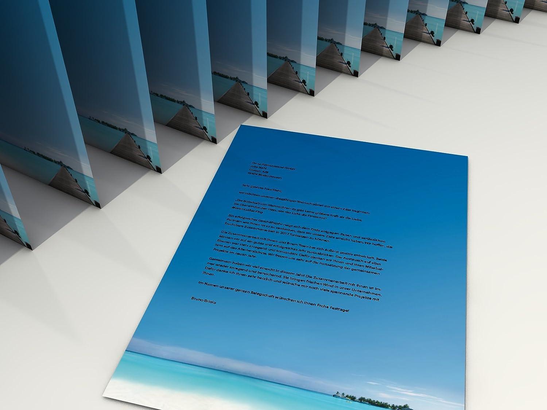 MotivpapierRuhe Lake 20/Blatt A4/100/G//Qm hochwertiges Briefpapier f/ür Laser//Ink//Copy//Hand