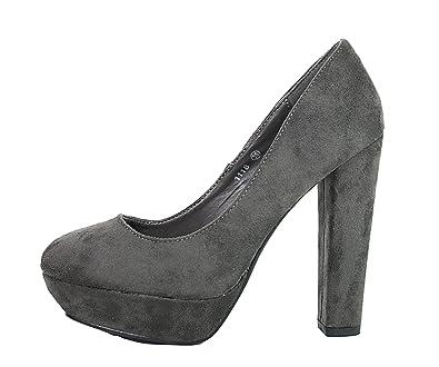 high heels mit dickem absatz