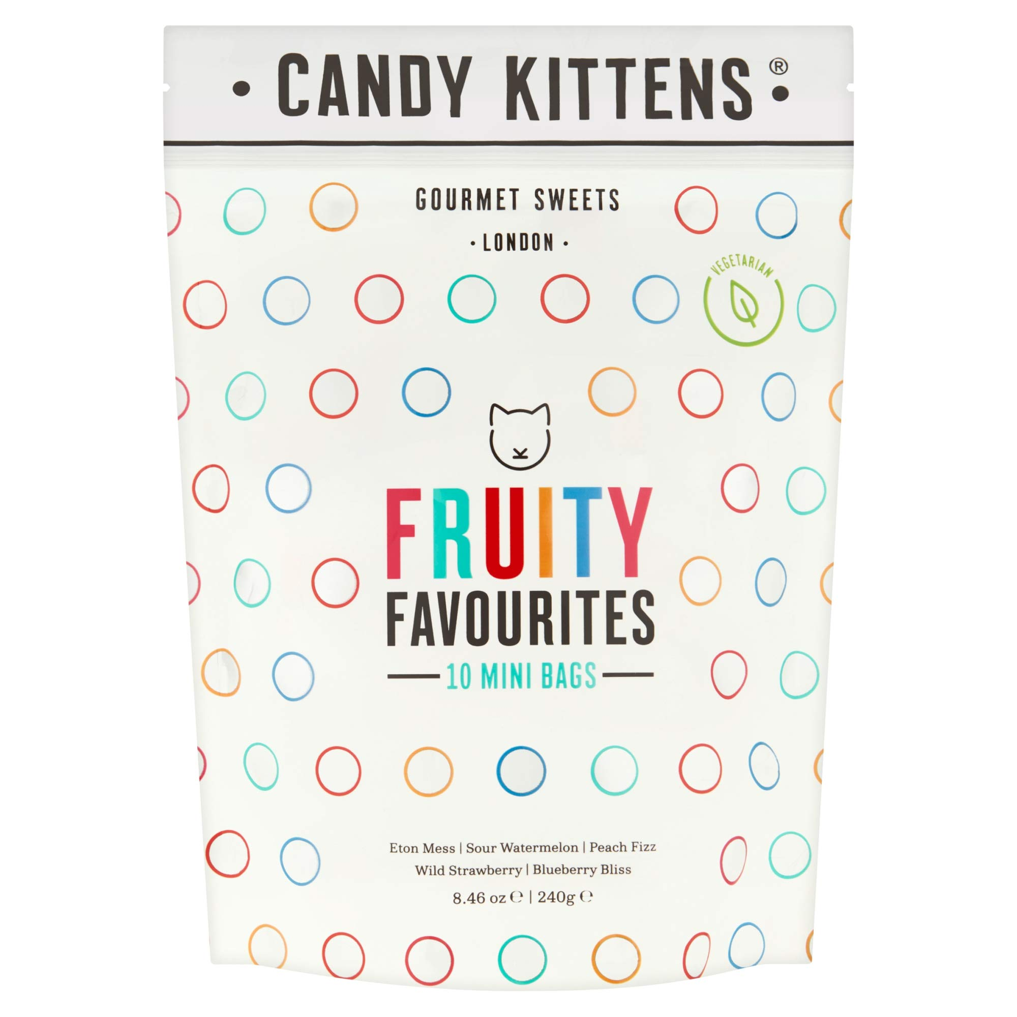 Candy Kittens Fruity Favourites 234g Buy Online In Dominica