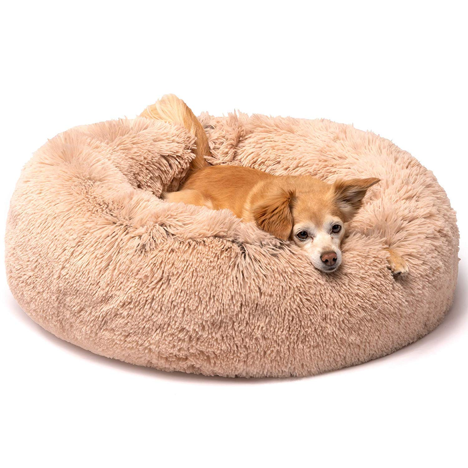 Friends Forever Self-Warming Indoor Donut Bed