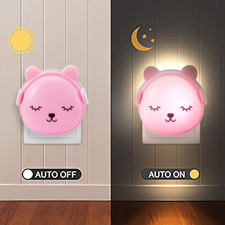 dimmbar mit Warm-Licht und Farbwechsel Modi f/ür Kleinkinder und Kinder Brunoko LED Nachtlicht f/ür Kinder mit Fernbedienung Entworfen in Spanien Wiederaufladbare USB Silikon LED Kinder Lampe