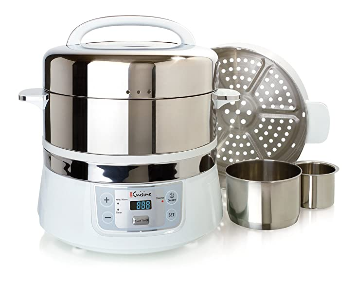 Euro-Cuisine-FS2500-Electric-Food-Steamer