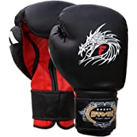 Farabi Sports - Guantes de boxeo (piel), diseño