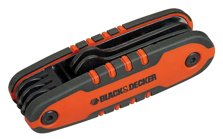 Black+Decker BDHT0-71617 - Juego de 5 llaves fijas