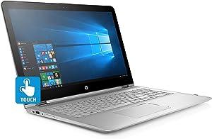 2018 HP Flagship Envy x360 2-in-1 15.6 inch FHD Touchscreen Laptop, Intel i7-8550u Quad-Core, 512GB SSD, 12GB DDR4, Backlit Keyboard, 802.11ac WiFi, USB C, HDMI, Bluetooth, Bang & Olufsen, Windows 10
