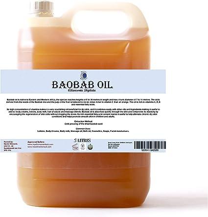 Mystic Moments Baobab Virgin Carrier Oil 5 Liter 100 Pure Amazon Nl