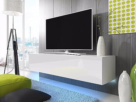 Lana - Mobiletto porta TV sospeso / Mobile porta TV sospeso (160 cm ...