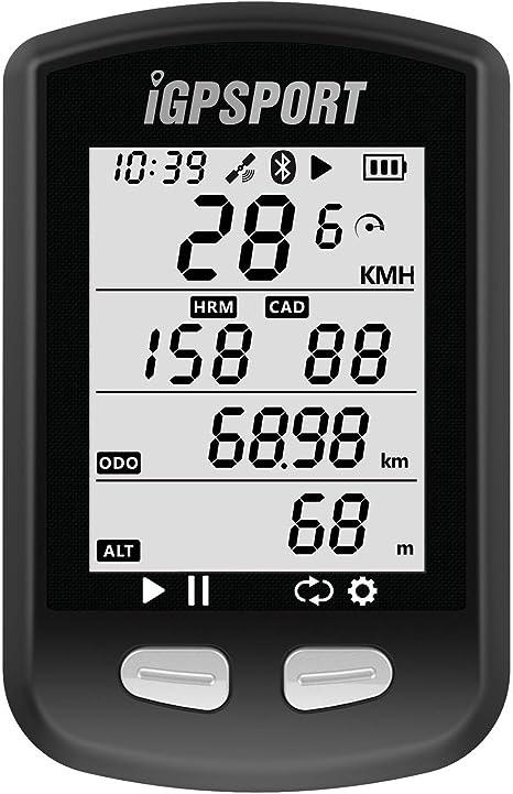 iGPSPORT iGS10 (versión española) - Ciclo computador GPS Bicicleta ...