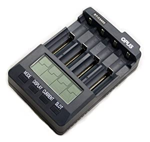 Universal Battery Charger Analyzer Tester for Li-ion NiMH NiCd Rechargeable Batteries C3400 BT-C3400 AA AAA C 18650 21700