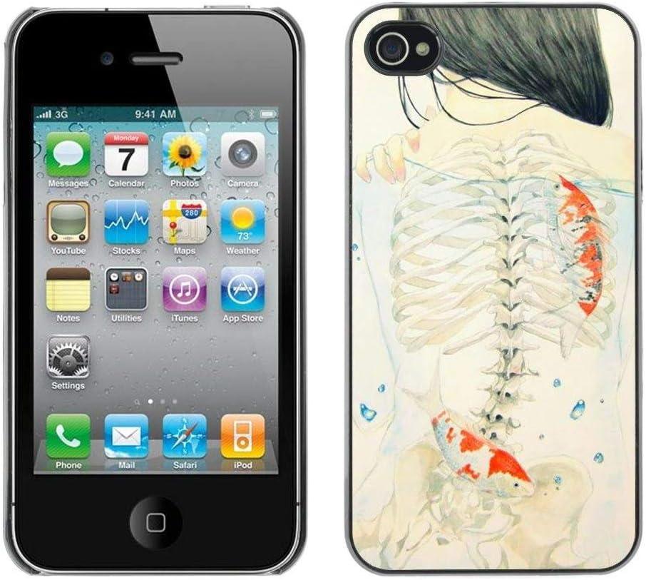 Regalo perfecto para diseño duro SPGECELL/Estuche Rígido Funda Carcasa funda/carcasa for iPhone 4/4S/subíndice Girl Emo significado/Deep Girl Emo meaning arte tipo: Amazon.es: Electrónica