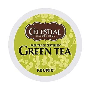 Celestial Seasonings Natural Antioxidant Green Tea Keurig Single-Serve K-Cup Pods, 96 Count